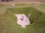 The bunker on the 18th hole of Chamber's Bay, Chambers Basement